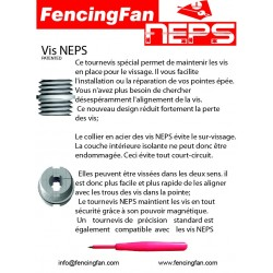 Lot vissage épée NEPS