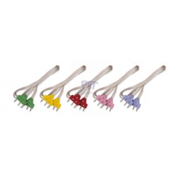Epée fil de corps transparent prise couleur